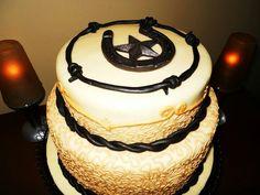 Cowgirl Wedding Cake