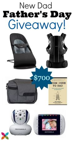 Gifts for New Dads! {Father's Day Giveaway}
