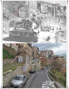 Truppe Alleate entrano in  #Centuripe Sicilia #Agosto1943