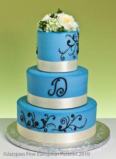 Classic Harmony Cake Cake Gallery, Monogram Wedding, Wedding Cakes, Simple, Desserts, Food, Elegant, Classic, Wedding Gown Cakes