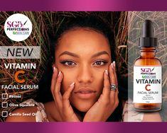Natural Vitamin C Serum Vitamin C Serum Benefits, Vitamin C Mask, Natural Oils, Natural Skin Care, Natural Vitamin C, Natural Moisturizer, Facial Serum, Camilla, Skin Care Tips