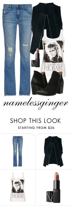 """""""babe with the power"""" by namelessginger ❤ liked on Polyvore featuring Current/Elliott, Ann Demeulemeester, NARS Cosmetics and Freebird"""