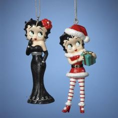 Betty Boop Christmas Ornaments Item #BB1121 Officially licensed mer...