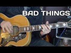 Bad Things by Jace Everett - Guitar Lesson with Erich Andreas - YouTube