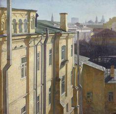 Оссовский Сергей Петрович (1958) «Желтый дом» 1985