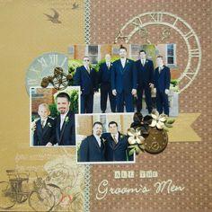 All the Groom's Men - Scrapbook.com