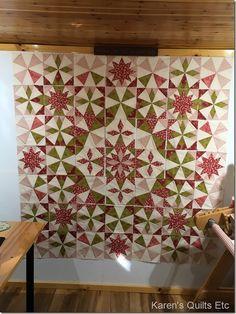 Alaska quilt Quilt Block Patterns, Star Patterns, Pattern Blocks, Quilt Blocks, Quilting Projects, Quilting Designs, Traditional Quilt Patterns, Laundry Basket Quilts, Signature Quilts