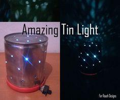 Amazing Tin LED light!!!!!!