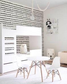 Room Decor Bedroom, Kids Bedroom, Scandinavian Kids Rooms, Scandinavian Modern, White Kids Room, Kids Room Design, Kidsroom, Girl Room, Baby Room