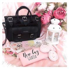10.5 тыс. отметок «Нравится», 102 комментариев — K A T Y A _T Y A N (@katyushka_tyan) в Instagram: «Моя новая любовь - сумка от @grafea🖤 Безумно стильная, удобная и небольшая💫 Давайте на этой фотке…»