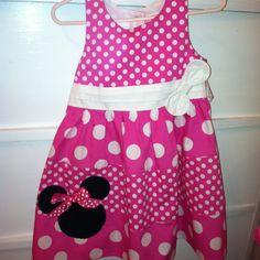 Minnie Mouse Birthday Dress!