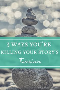 As a writer, your job is to torture your readers with tension. The fun of fiction is anticipation, and if your story doesn't have it your readers won't stick around. Here are 3 ways you might be killing your story's tension and losing readers.