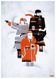 Fargo TV Series Poster Art Print