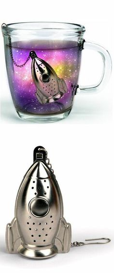 Rocket Tea Infuser // too much awesome