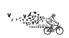 Biking = Freedom this would be a great tattoo