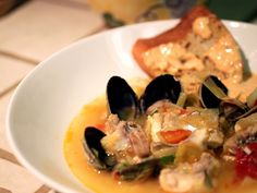 Gojee - Bouillabaisse with Croutons and Rouille by Rice and Wheat