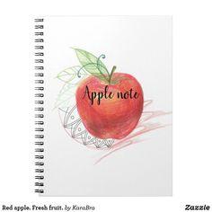 Red apple. Fresh fruit.