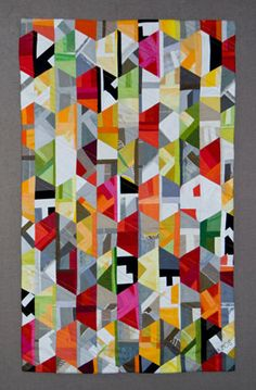"""Two by Two"" quilt - hexies"