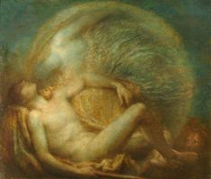 Endymion by George Frederic Watts 1903 oil on canvas Watts Gallery