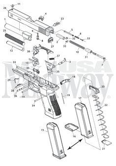 Full Size Glock Schematic
