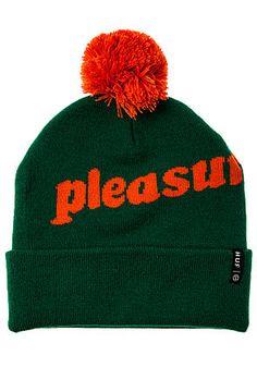 HUF Hat Pleasure Beanie in Green - Karmaloop.com