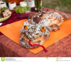 michaelmas dragon bread - Google Search