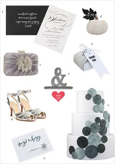 # silver wedding # wedding ideas # glitter weddings # winter weddings