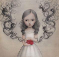 """""""Dora's Box"""" beautiful work from Nicoletta Ceccoli"""