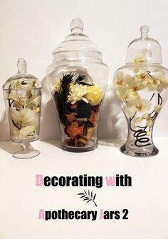 Decorating with Apothecary Jars 2
