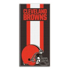 Cleveland Browns Zone Beach Towel, Multicolor