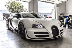 Bugatti Veyron Pur Blanc, I think me and my girls would look good in this
