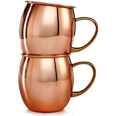 Martha Stewart Collection Copper Moscow Mule Mug Set, Created for Macy's Copper Bar, Copper Kitchen, Kitchen Dining, Kitchen Tools, Kitchen Decor, Rose Gold Theme, Copper Moscow Mule Mugs, Couple Mugs, Herbal Cure