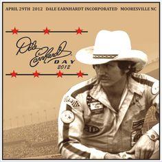Dale Earnhardt postcard for Dale Earnhardt day 2012.  #DaleEarnhardtArt http://www.pinterest.com/jr88rules/dale-earnhardt-art/