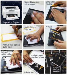 DIY: Capa para Caderno de Receitas de Massas