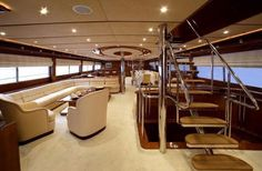 intérieur de yachts