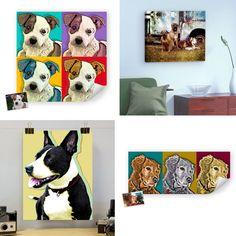 neat pop art of pets