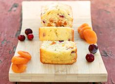 cranberry apricot bread.