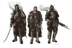 Okirionská Profesionalní armáda (pozdejší výzkum)