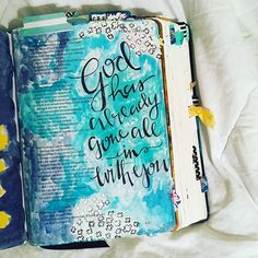 Bible Journaling by Stephanie Middaugh @stephmiddaugh | Psalm 119:133