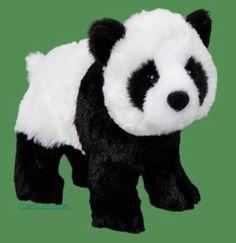 "Douglas Bamboo PANDA BEAR 8"" Plush Stuffed Animal Cuddle Toy NEW #DouglasCuddleToy"