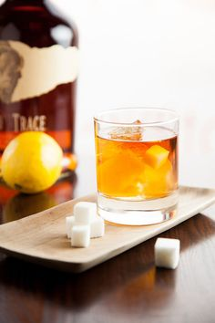 The drink itself is quite simple, and the procedure for making it just seems as if it was created in a speakeasy.