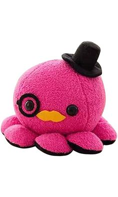 10cm Cute Octopus Plush Toy Soft Stuffed Animal Doll Xmas Christmas Birthday Valentine Gift (Hot Pink) Best Price