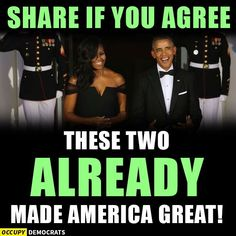 THE BEST FIRST COUPLE IN DECADES!!!!!