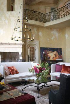 furniture-meubles: Bernhardt Furniture Co Italian Villa Affinity. Italian Furniture, Luxury Furniture, Furniture Decor, Furniture Design, Cheap Furniture, Romantic Living Room, Living Room Grey, Living Rooms, Burgundy Room