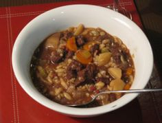 Slow cooked Venison Stew