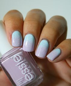 Gradient tout doux.Go Ginza Essie and 833 with Hema,