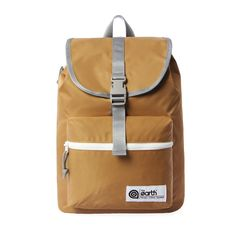 [The Earth] Nylon 1 Pocket Backpack - Beige - The Earth Nylon ranges are light and comfortable backpacks. Useful storages made with protective materials, comfort shoulder straps and back support. Brand 'The Earth' The Earth is the Korean backpack brand which has been launched in 2010.  The Earth products feature durable material and practical use through various lifestyles.  With high durability, function and aesthetic design, this brand has been growing in backpack market. Continuous…