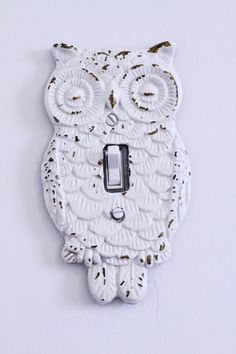 I don't really like owls, but I imagine there are all sorts of things you could make into a switch plate.