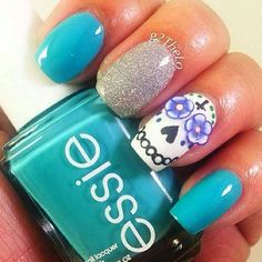 day of the dead nails | Most people celebrate Day of the Dead out of love and commitment to ...