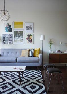 Ana and Fabiano's Cozy Canadian Home
